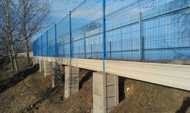 Modrý plot v Trenčíne